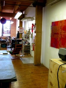 The Right Side of Jens' Studio